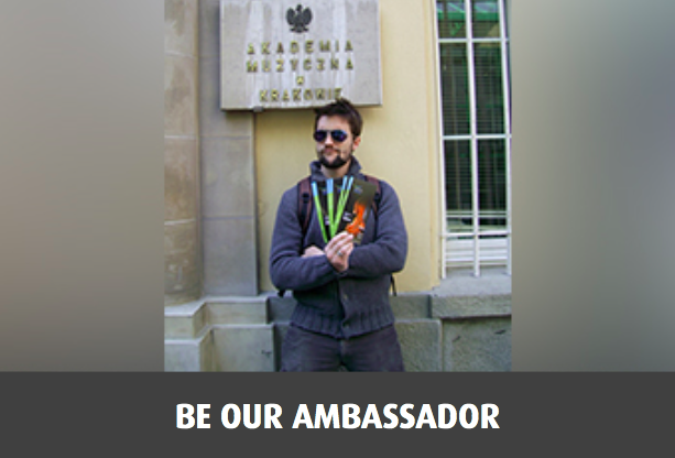 Be our ambassador!
